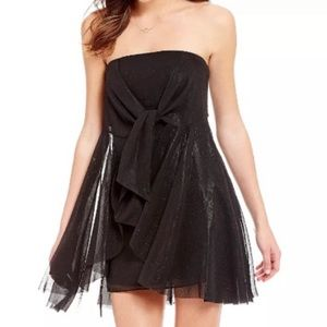 Free People Good For You Strapless Tie-Front Dress